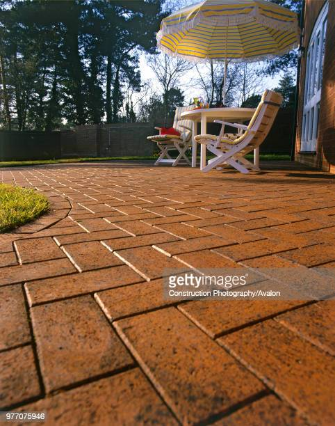 Traditional Paving outdoor patio