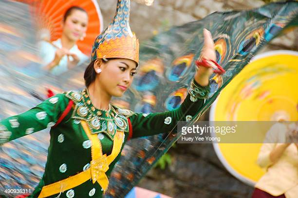 Traditional peacock dance in Cambodia, love the colours & the movements.