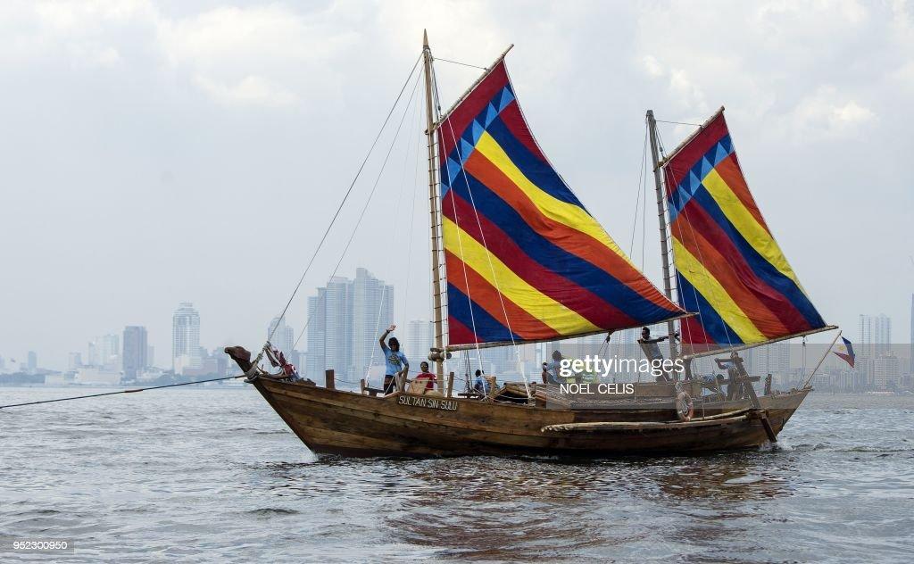 PHILIPPINES-CHINA-HISTORY-MARITIME : News Photo