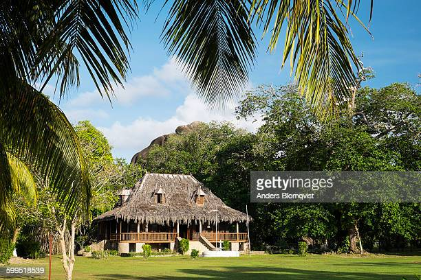 Traditional plantation house on La Digue Island