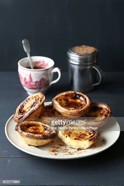 Traditional Portuguese egg tarts-Pastel de nata