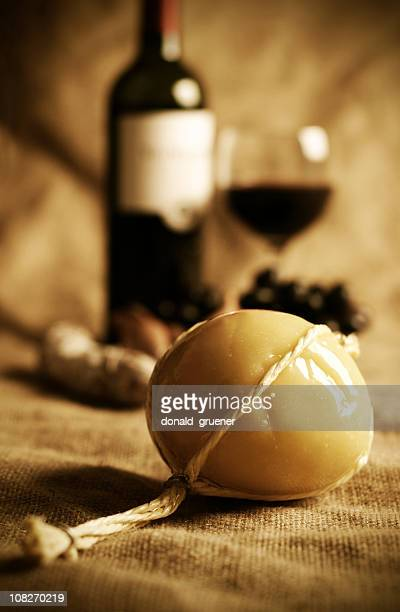 Traditional Provolone Cheese with Wine