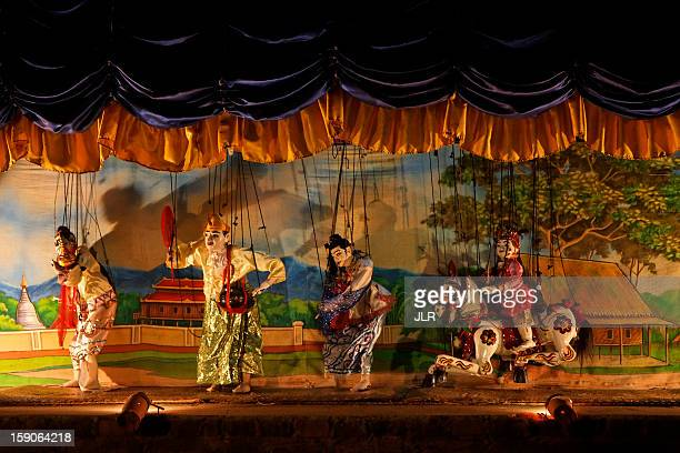 Traditional Puppet Show - Myanmar