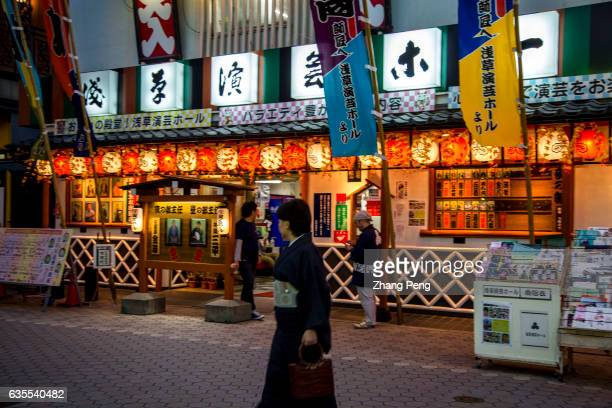 Traditional Rakugo theater Rakugo is a form of Japanese verbal entertainment Asakusa area not only is famous for the popular temple with the same...