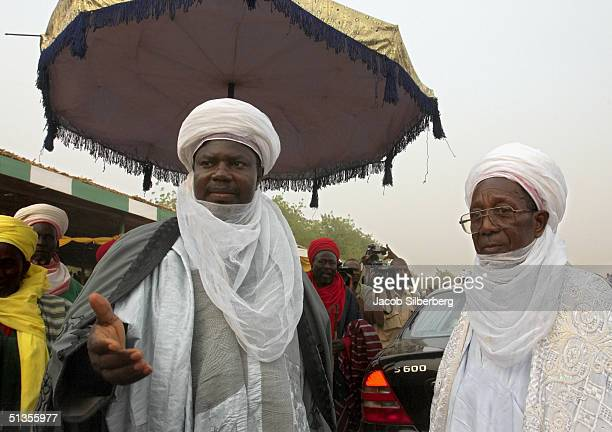 Traditional rulers called Emirs arrive at the Argungu Fishing Festival on March 19 in Argungu Nigeria The Argungu Fishing Festival was first held in...