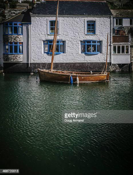 Traditional sail boat from Cornwall, UK