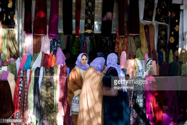 traditional shopping bazaar, sanliurfa, turkey - şanlıurfa stock pictures, royalty-free photos & images