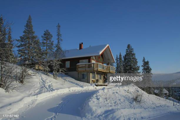 Traditionelle Ski Chalet