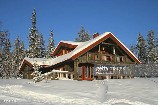 Chalet de Ski traditionnelle