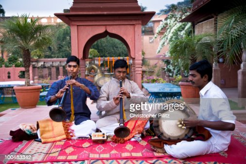 Traditional South Indian Musicians Play At Wedding Stock Photo Getty Images