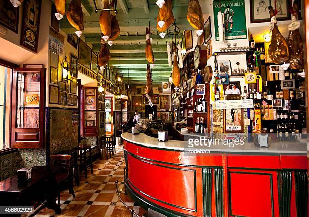Traditional Spanish Bar in Seville