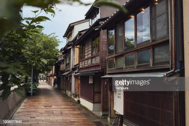 金沢に江戸で従来通りの期間家します。 - 日本建築 ストックフォトと画像