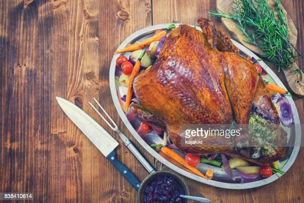Traditional Stuffed Turkey