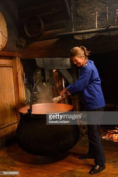 Traditionelle Schweizer Käse,