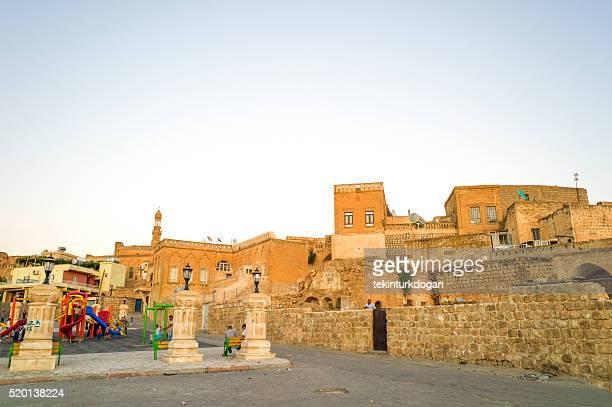 traditional syrian houses at midyat mardin turkey