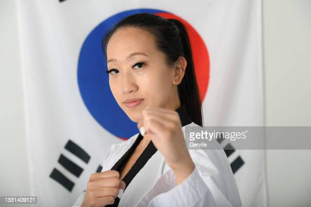 traditional tae kwon do - gerville stock pictures, royalty-free photos & images