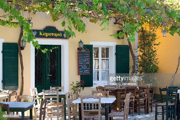 Traditional taverna, Lakka, Paxos, Greece