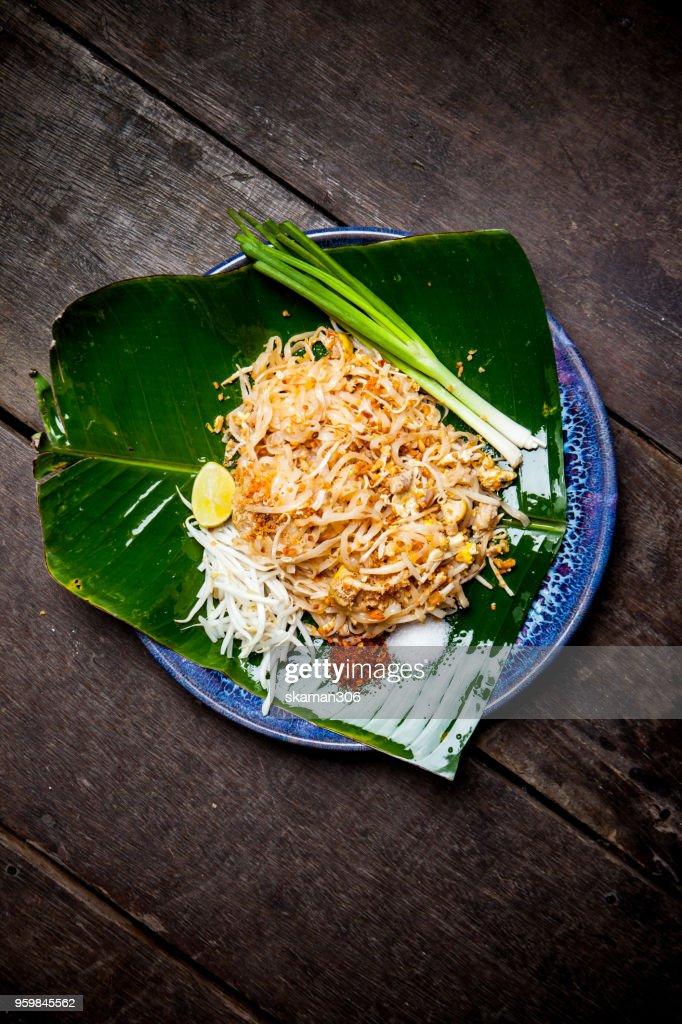 traditional thai cuisine padtai : Stock-Foto