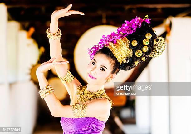 Ballerino tradizionale thailandese