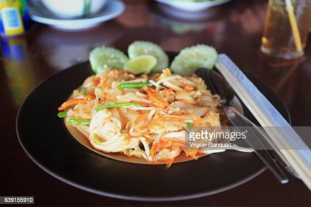 Traditional Thai food, pad thai