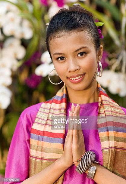 伝統的なタイの女性