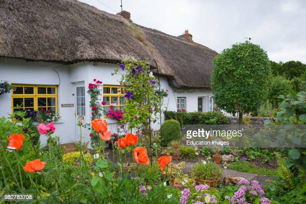Traditional thatched cottages at Adare county Limerick Ireland