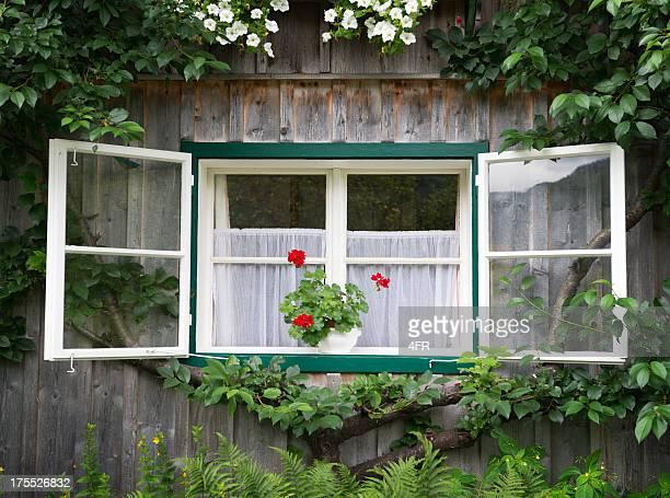 Traditionelle Holz Country House, Bayern, Deutschland (XXXL)