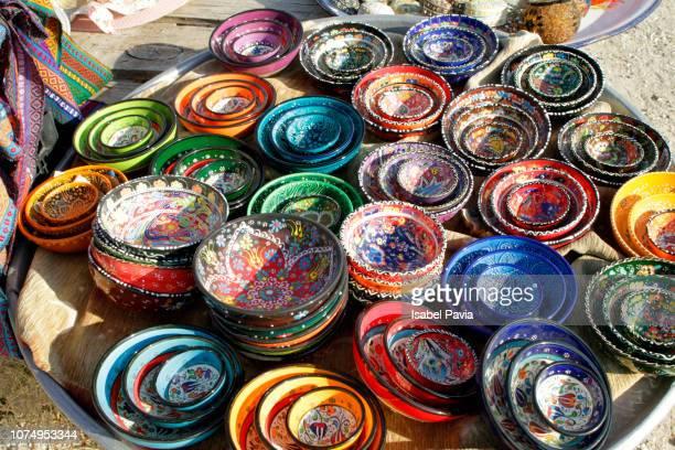 traditional turkish ceramic - 中東文化 ストックフォトと画像