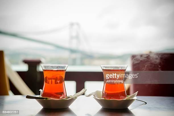 Traditional Turkish Tea in Istanbul