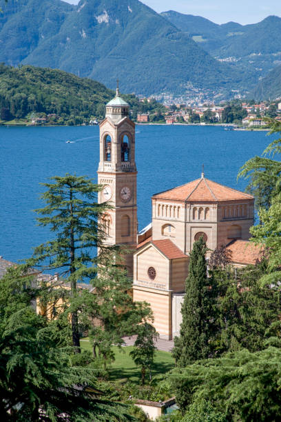 Traditional village on Lake Como.