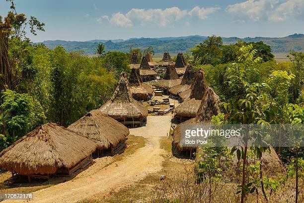 Traditional village, Sumba, Indonesia