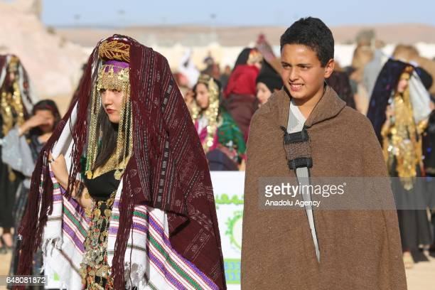 A Traditional Wedding Ceremony Is Held During The 38th Ksour Festival In Tataouine Tunisia On March