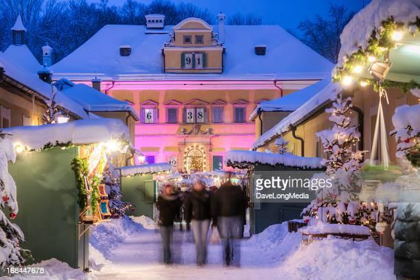 伝統的な Weihnachtsmarkt