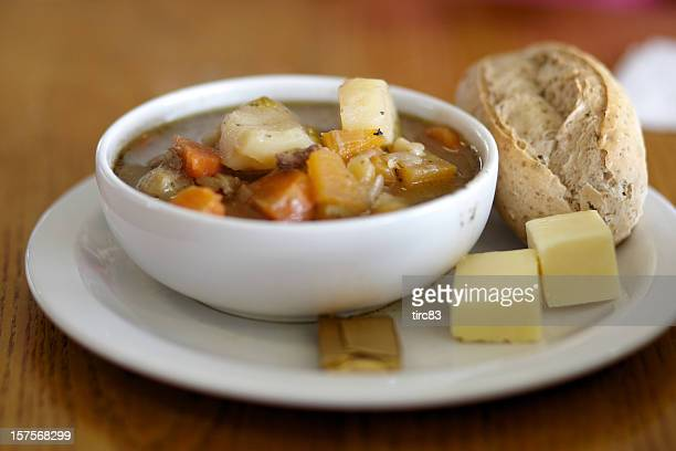 Traditional Welsh broth