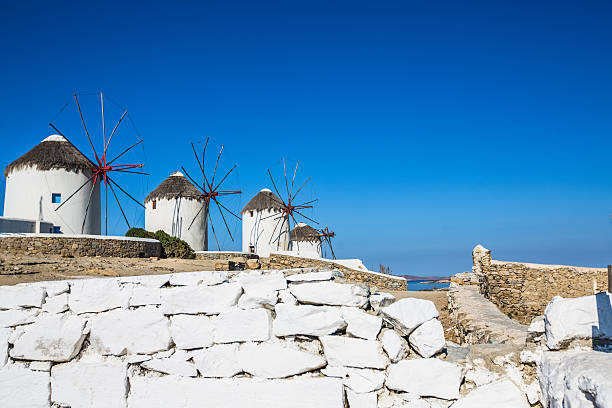Traditional Windmills of Mykonos