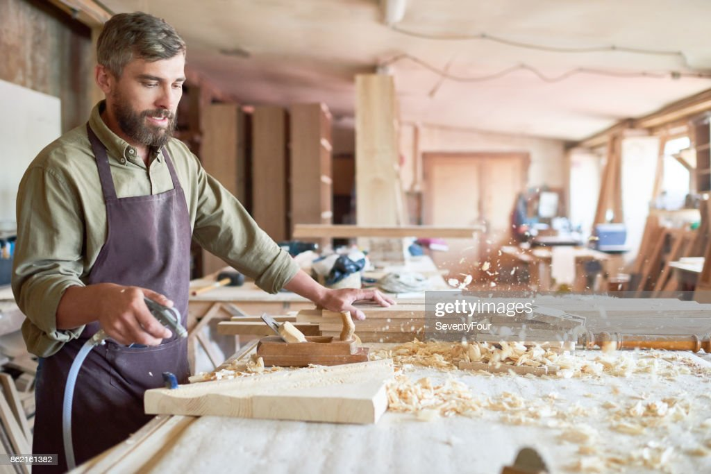 Traditional Woodworking Craft Stock Photo Getty Images