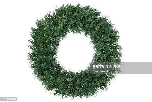 traditional wreath (xl) - wreath stock pictures, royalty-free photos & images