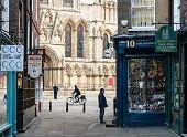 Traditional York street scene