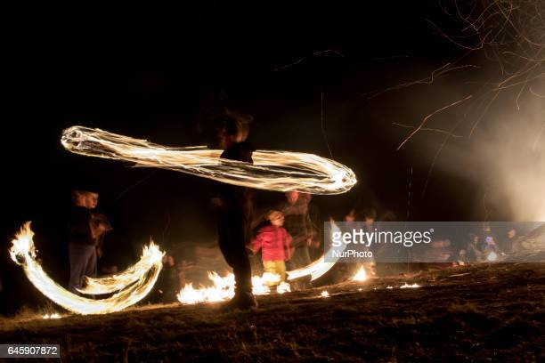 Traditionally on the Sunday before Great Lent also called Forgiveness Sunday the residents of the village of Dolni Lozen near Sofia gather in the...