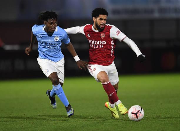 GBR: Arsenal v Manchester City: Premier League 2