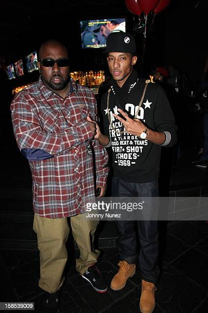 Trae Tha Truth and D King attend Cans For Cocktails on December 17 2012 in New York City