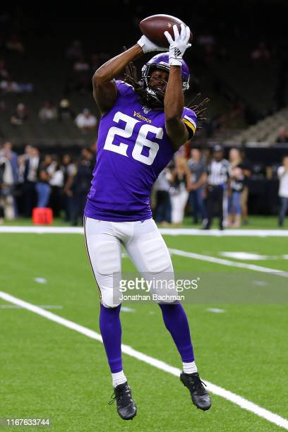 Trae Waynes of the Minnesota Vikings during a preseason game at the Mercedes Benz Superdome on August 09, 2019 in New Orleans, Louisiana.