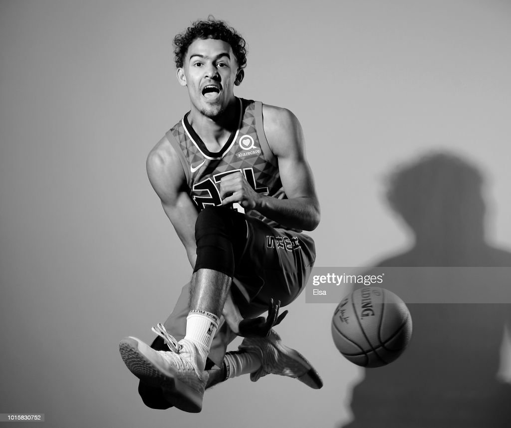 Trae Young Of The Atlanta Hawks Poses For A Portrait