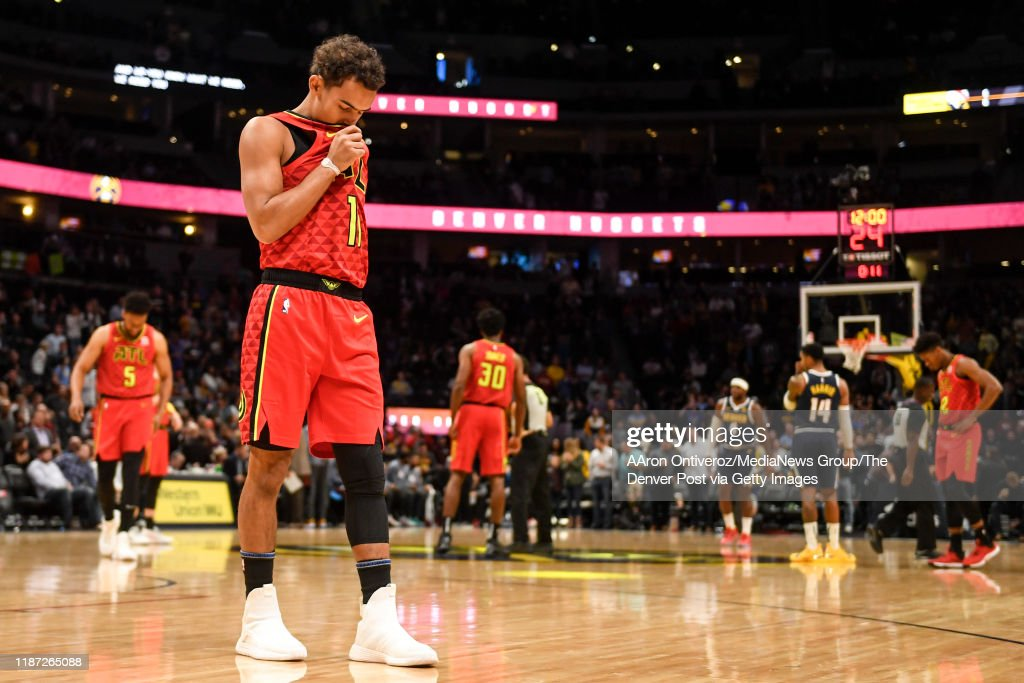 DENVER NUGGETS VS ATLANTA HAWKS, NBA REGULAR SEASON : News Photo