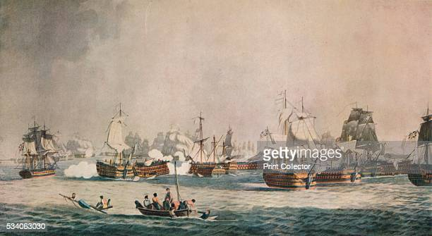 Trafalgar' from 'Old Naval Prints' by Charles N Robinson Geoffrey Holme 1924 The Battle of Trafalgar was a major naval battle between the British...