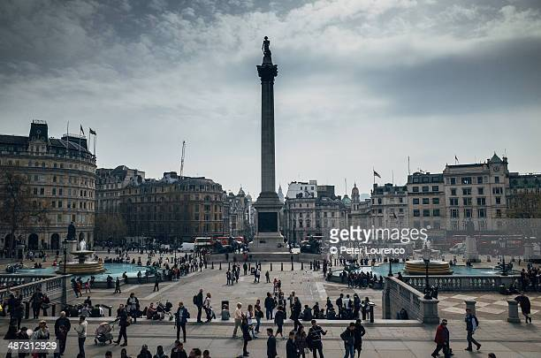 trafalgar square - peter lourenco stock pictures, royalty-free photos & images