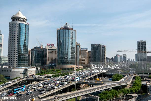 Traffic and office buildings in Beijing CBD The rent for Grade A office in Beijing's Central Business District is expected to drop 15 percent by the...