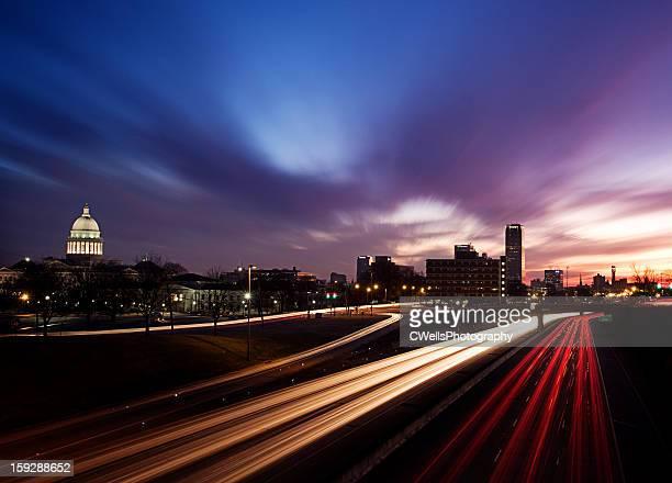 Traffic and Sunrise