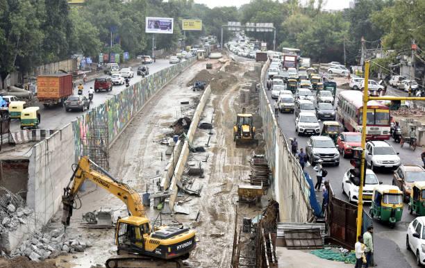 IND: No Respite From Traffic Jams At Ashram Till At Least December