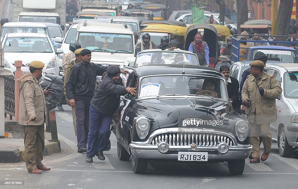 16th Vintage And Classic Car Rally In Jaipur Photos and Images ...
